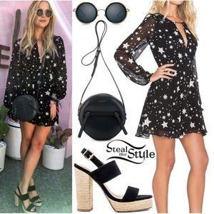 Lovers + Friends Dresses - 🆕Lovers + Friends Lana Navy Cosmic Star Dress